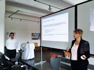 """Die Firma Thieme Compliance zum Thema """"Mobile Patientenaufklärung"""" - einer der hochwertigen Gastvorträge unserer Kooperationspartner."""