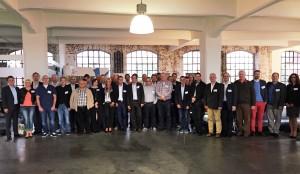 Das Gruppenfoto mit allen anwesenden Partnern.