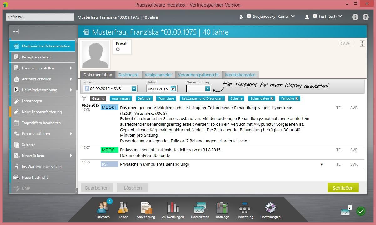 Neue Schnittstelle zur Praxissoftware medatixx