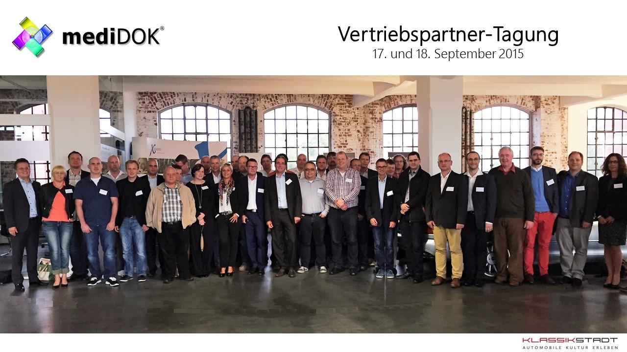 Erfolgreiche Vertriebspartner-Tagung 2015