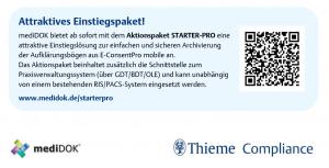 Das Aktionspaket mediDOK STARTER-PRO