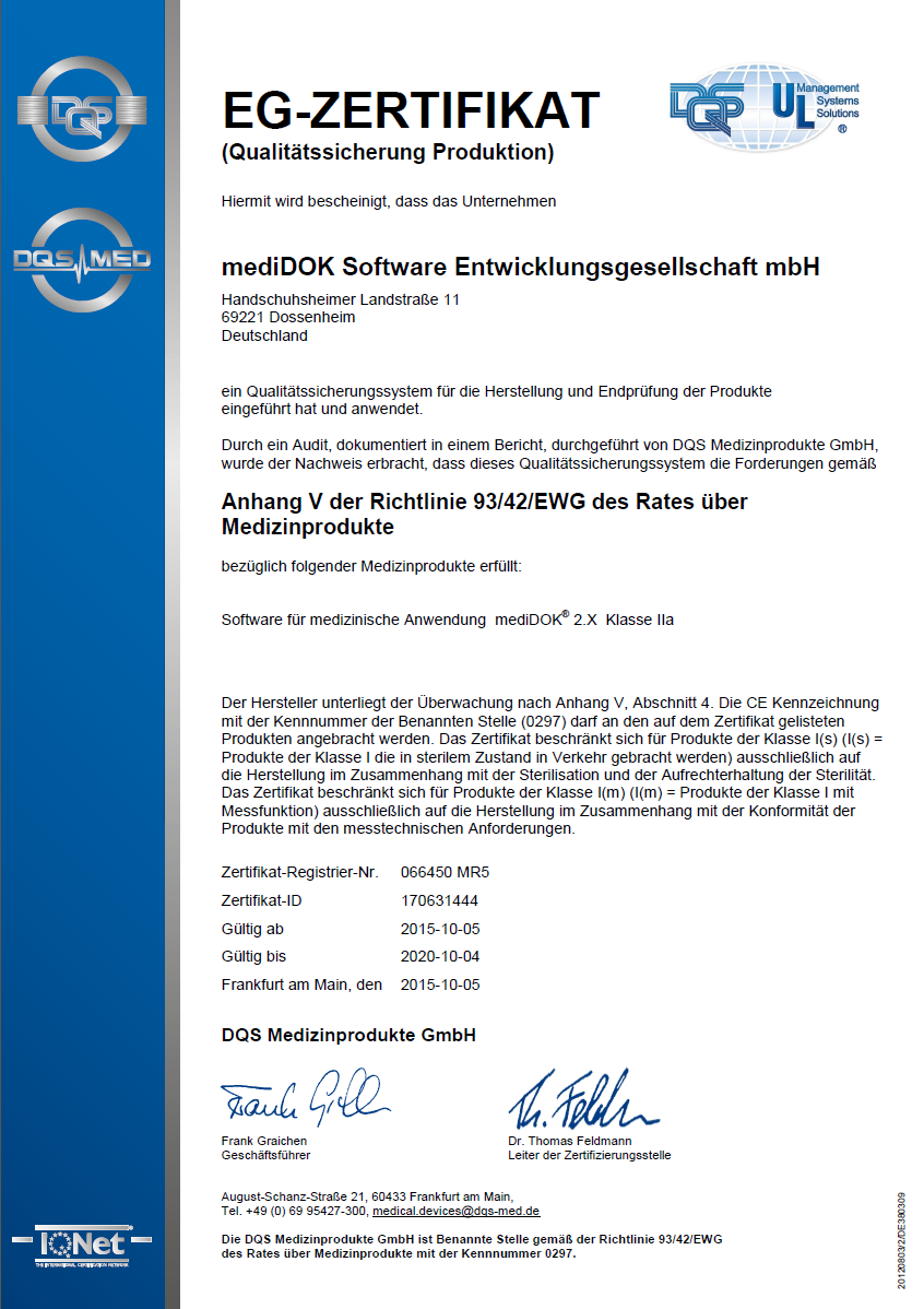 Zertifizierung erfolgreich erneuert!