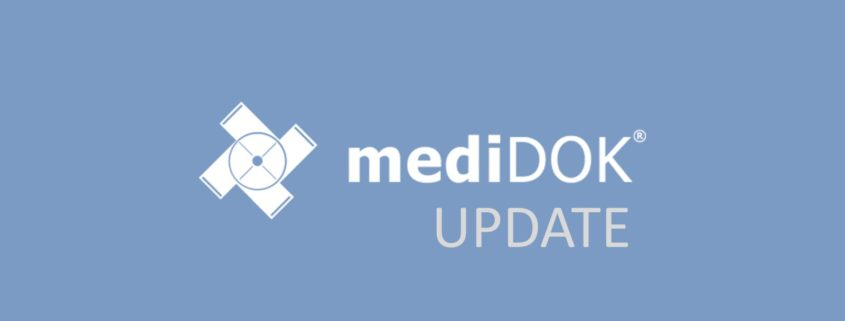 medidok update hotfix banner