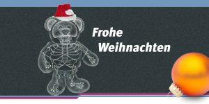 medidok frohe weihnachten