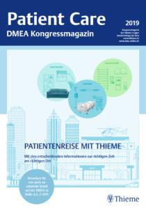 Patient Care - das Kongressmagazin von Thieme Compliance zur DMEA 2019